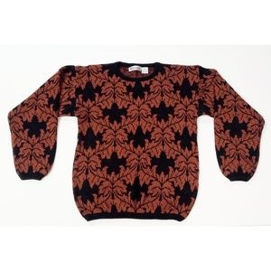 Sweaters - Cute vintage 80's fall sweater!